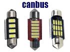 Λάμπες LED C5W Σωληνωτοί Can Bus