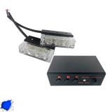 Φώτα Ασφαλείας LED 2 x 1 12-24 Volt DC Μπλε Εξωτερικά