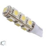 Λαμπτήρας LED T10 με 13 SMD 5050 Ψυχρό Λευκό
