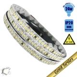 Ταινία LED 240 smd 3014 24 Watt 24 Volt Λευκό Ημέρας GloboStar 63020