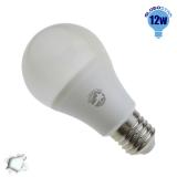 Γλόμπος LED A60 με βάση E27 12 Watt 230v Ψυχρό GloboStar 01730