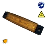 LED Φώτα Όγκου Φορτηγών IP66 Πορτοκαλί