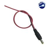 Male Connector με Καλώδιο 5.5*2.1 GloboStar 82550