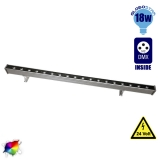 LED Wall Washer 18 Watt 100cm 24v RGB DMX 512