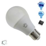 Γλόμπος LED A60 με βάση E27 GloboStar 10 Watt 230v Ψυχρό Dimmable
