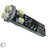 Λαμπτήρας LED T10 Can Bus με 8 SMD 1210 Ψυχρό Λευκό
