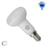 Λαμπτήρας LED R50 με Βάση E14 Globostar 8 Watt 230v Ψυχρό