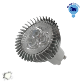 LED Spot GU10 3x1 Watt Λευκό Ημέρας