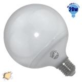 Γλόμπος LED G125 με βάση E27 20 Watt 230v Θερμό GloboStar 01738