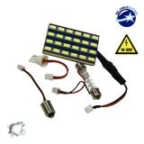 Πλακέτα LED PCB με 24 smd 5630 12-24 Volt Ψυχρό Λευκό
