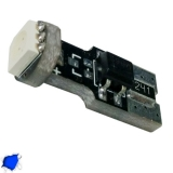 Λαμπτήρας LED T10 Can Bus με 1 SMD 5050 Μπλε