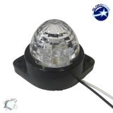 LED Πλευρικά Φώτα Όγκου Φορτηγών BULLET IP66 6 SMD 24 Volt Ψυχρό