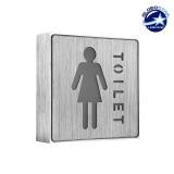 Φωτιστικό LED Σήμανσης Αλουμινίου WC WOMEN