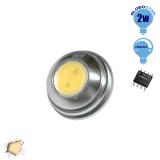 G4 1 COB LED 2 Watt 12 Volt Θερμό Λευκό GloboStar 88966