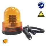 Φάρος Οδικής Βοήθειας 100 LED 10-30 Volt DC Πορτοκαλί με Μαγνήτη