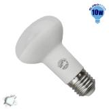 Λαμπτήρας LED R63 με Βάση E27 Globostar 10 Watt 230v Ψυχρό