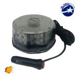 Φάρος Οδικής Βοήθειας Στρογγυλός Οροφής 40 Watt 10-30 Volt DC Πορτοκαλί με Μαγνήτη