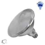 Λαμπτήρας LED PAR38 E27 18 Watt Ψυχρό Λευκό GloboStar 05573