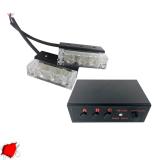 Φώτα Ασφαλείας LED 2 x 1 12-24 Volt DC Κόκκινο Εξωτερικά
