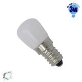 Λαμπάκι LED E14 3 Watt Ψυγείου Ψυχρό GloboStar 07730