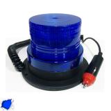 Φάρος LED 12-24 Volt DC Μπλε με Μαγνήτη Strobe