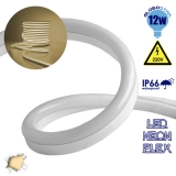 LED NEON FLEX 230 Volt Θερμό Λευκό IP66 Dimmable