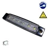 LED Φώτα Όγκου Φορτηγών IP66 Ψυχρό Λευκό