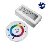 Controller RGB 2.4G Round 12-24 Volt DC White Body