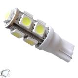 Λαμπτήρας LED T10 με 9 SMD 5050 Ψυχρό Λευκό GloboStar 93440
