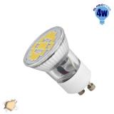 LED Spot GU10 M35 4W 230v Θερμό