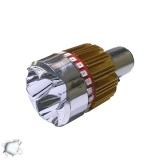 Λαμπτήρας LED Moto Βάση H6 15 Watt 6000k GloboStar 67789