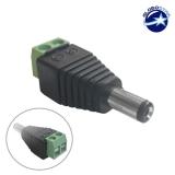 Male Connector Για Ταινία LED GloboStar 62550