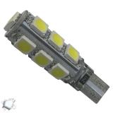 Λαμπτήρας LED T10 Can Bus με 13 SMD 5050 Ψυχρό Λευκό