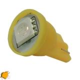 Λαμπτήρας LED T10 με 1 SMD 5050 Πορτοκαλί