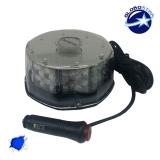 Φάρος Στρογγυλός Οροφής 40 Watt 10-30 Volt DC Μπλε με Μαγνήτη