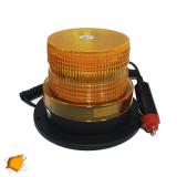 Φάρος Οδικής Βοήθειας LED 12-24 Volt DC Πορτοκαλί με Μαγνήτη Strobe
