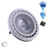 Λαμπτήρας LED AR111 12 Μοίρες 15 Watt 230v Ημέρας Dimmable GloboStar 01770