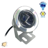 Προβολάκι 10 Watt 12 Volt DC Θερμό Λευκό IP65 Αδιάβροχο GloboStar 77390