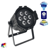 LED PAR Κεφαλή CREE 84 Watt RGBW WASH High Quality DMX512 GloboStar 51112