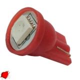 Λαμπτήρας LED T10 με 1 SMD 5050 Κόκκινο