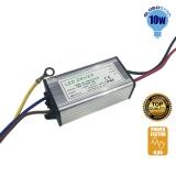 Μετασχηματιστής Προβολέα LED 10 Watt High Quality 0.95PF