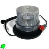 Φάρος LED 12-24 Volt DC Πράσινος με Μαγνήτη Strobe