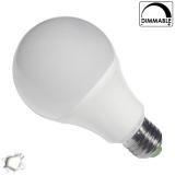 Λαμπτήρας LED E27 Γλόμπος 8 Watt Λευκό Ημέρας Dimmable