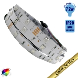 Ταινία LED 7.2 Watt 12 Volt RGB IP20