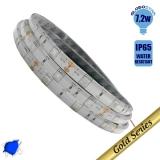 Ταινία LED 7.2 Watt 12 Volt Μπλε IP65 Αδιάβροχη GloboStar 24141
