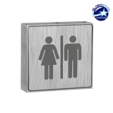 Φωτιστικό LED Σήμανσης Αλουμινίου WC