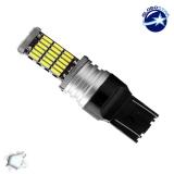 Λαμπτήρας LED T20 7443 με 45 SMD Can Bus 12v 4014 Ψυχρό 6000k GloboStar 40143