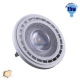 Λαμπτήρας LED AR111 Globostar 12 Μοίρες 15 Watt 230v Θερμό