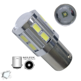 Λαμπτήρας LED BAU15S με 12 SMD 5630 + 5 Watt CREE 10-30v Ψυχρό Λευκό