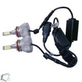 LED HID Kit H8 36 Watt 9-36 Volt DC 3600 Lumen 6000k C6 Economy Line